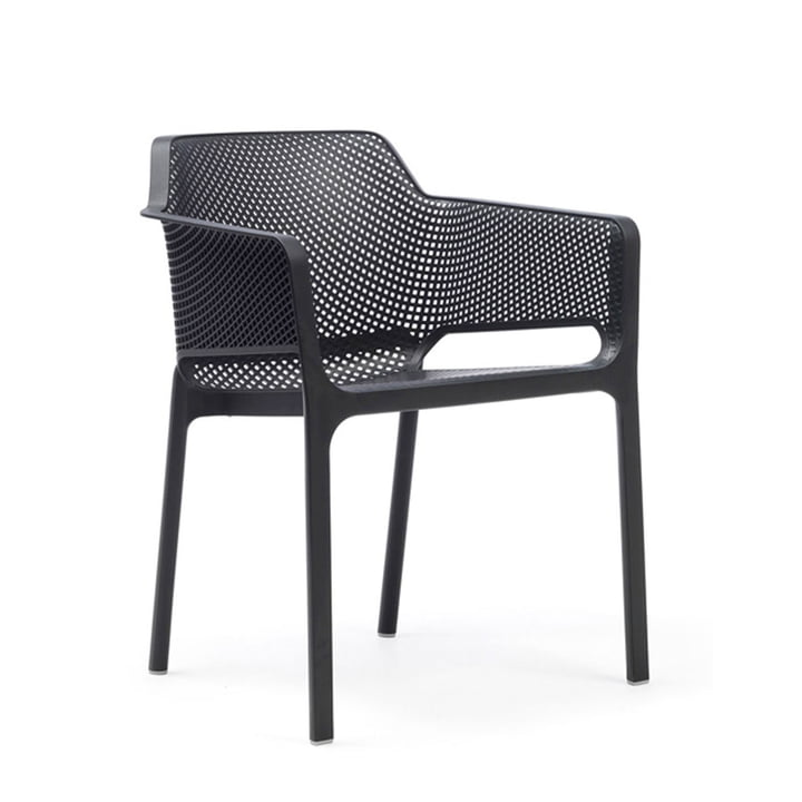 Fauteuil en filet Nardi anthracite