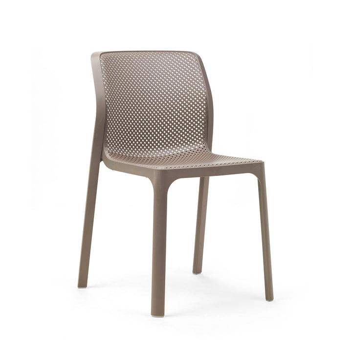 La Bit chaise en tortora par Nardi