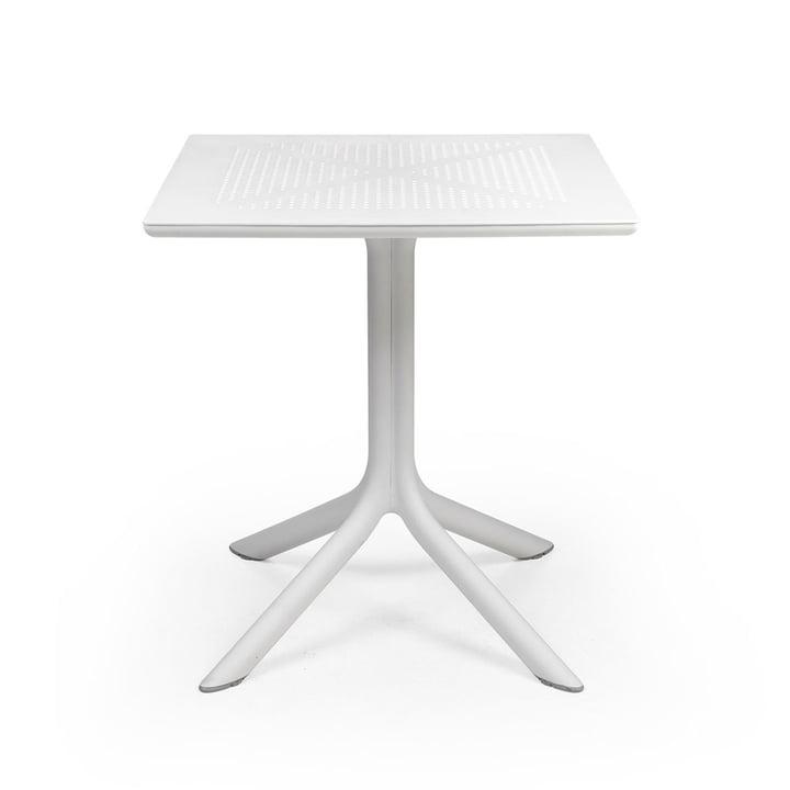 La table ClipX 70 en blanc de Nardi