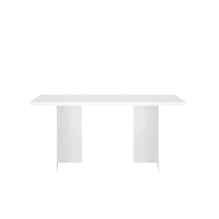 Table Zebe 150 x 85 cm d'objets de nos jours en blanc