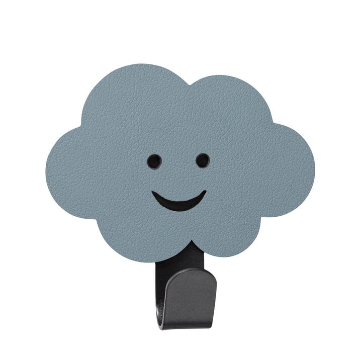 Mur d'enfant avec crochet nuage de LindDNA en Nupo bleu clair