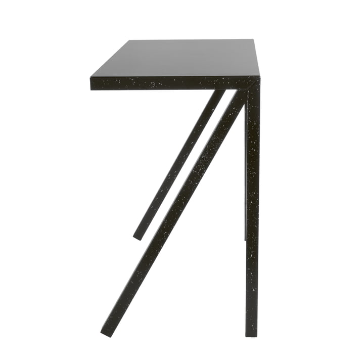 Table de bar Bureaurama H 102,5 cm en noir (injecté blanc) par Magis