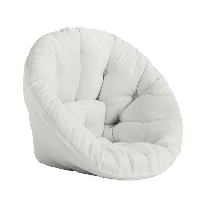 Fauteuil Nido OUT Futon de Karup Design en blanc (401)