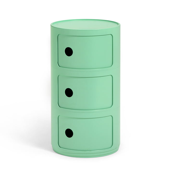 Componibili Bio 5970 par Kartell en vert