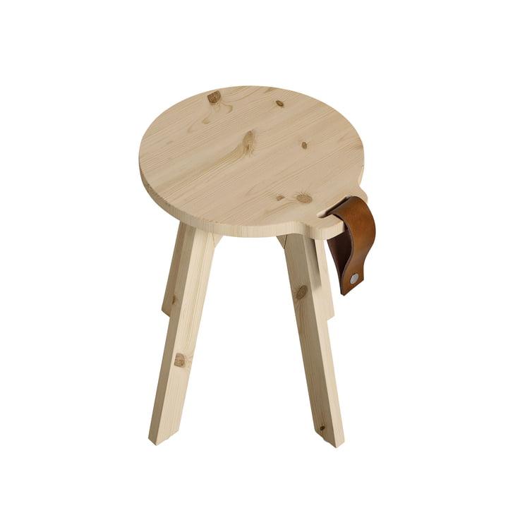 Tabouret de campagne / table d'appoint Ø 40 x H 45 cm de Karup Design en pleine nature