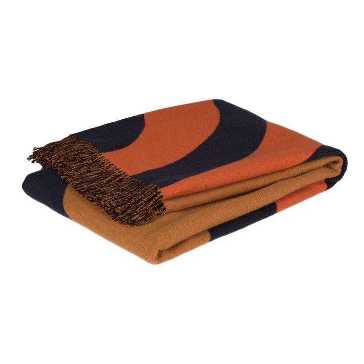 Tapis Keisarinkruunu 130 x 170 cm de Marimekko en brun / noir / orange