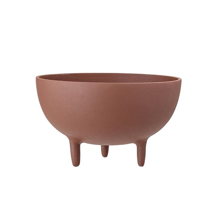 bol à pieds Ø 23 x H 14 cm de Bloomingville en brun