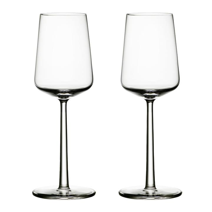 Verre à vin blanc Essence 33 cl (ensemble de 2) d'Iittala