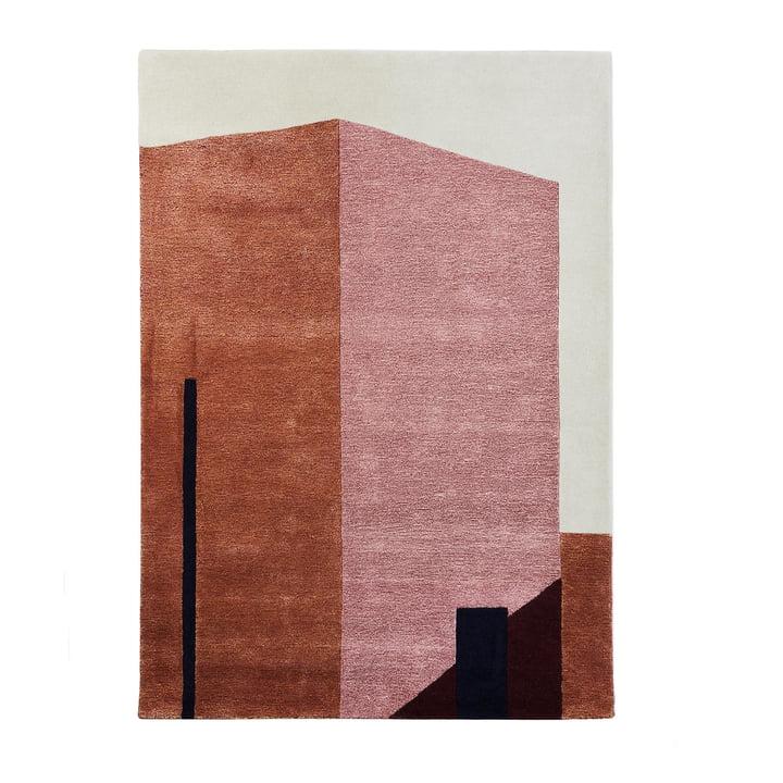Tapis Arqui 1, 170 x 240 cm, rouge indien / pêche de Veuillez patienter pour vous asseoir.