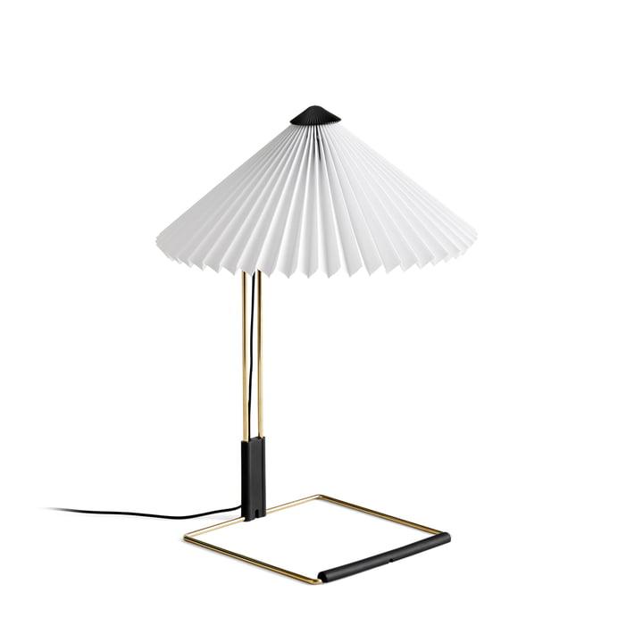 Lampe de table Matin LED S, blanc par Hay