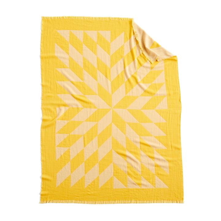 Tapis étoile, 180 x 130 cm en jaune par Hay
