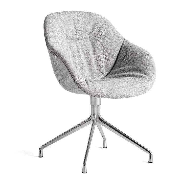 A propos de la chaise AAC 121 Aluminium doux et poli / Hallingdal 116 by Hay