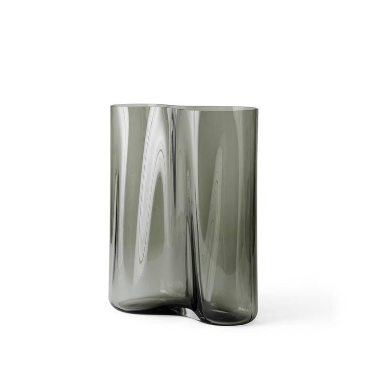 Vase d'aération H 33 cm, fumée de Menu