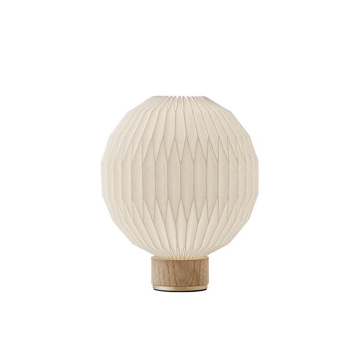 375 Lampe de table petite Le Klint en chêne / blanc
