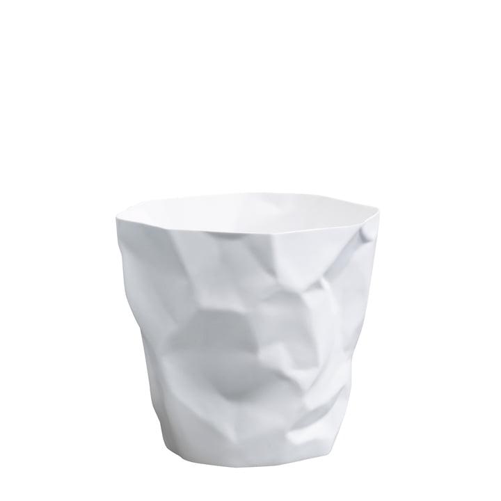 Mini poubelle d'essey en blanc