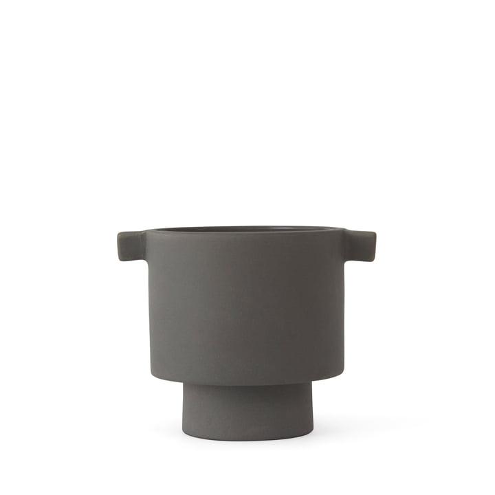 Jardinière Inka Kana, Ø 5 x H 10. 5 cm, gris par OYOY