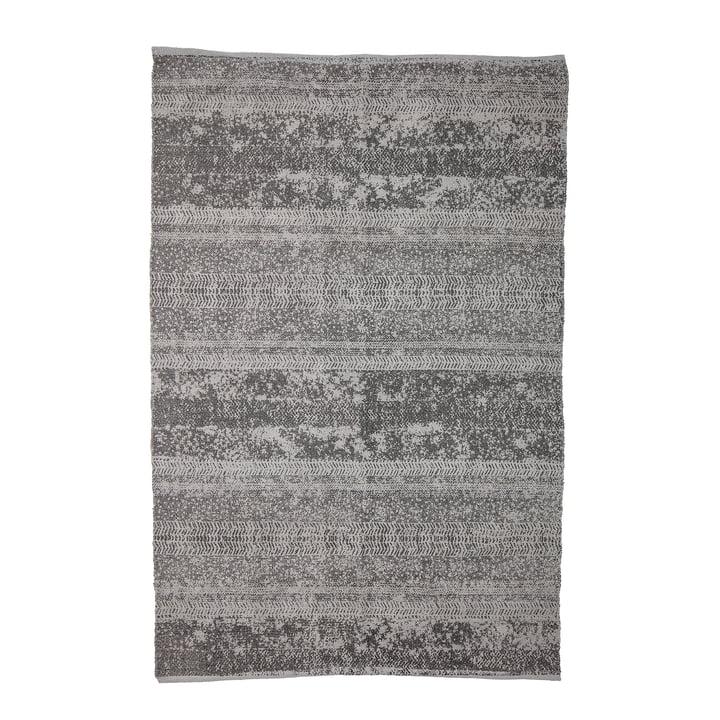 Tapis avec motif, 180 x 120 cm, gris par Bloomingville