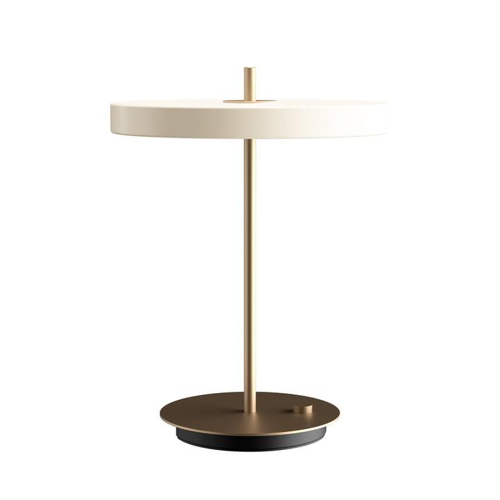 Asteria lampe de table LED Ø 31 x H 41.5 cm de Umage en perle