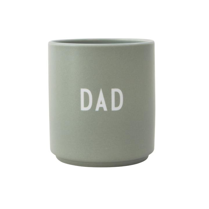 Mug en porcelaine AJ Favourite Dad par Design Letters