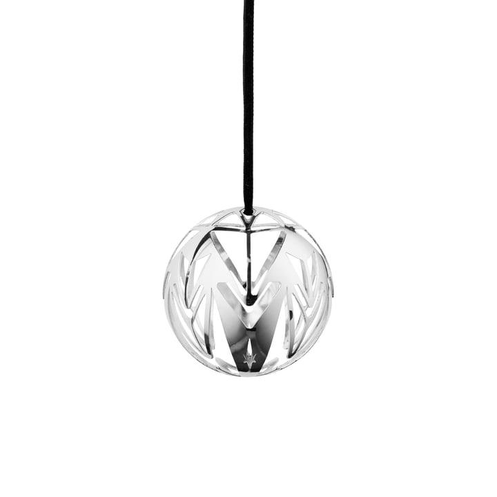 Boule de Noël Karen Blixen Ø 6,5 cm de Rosendahl en argenté