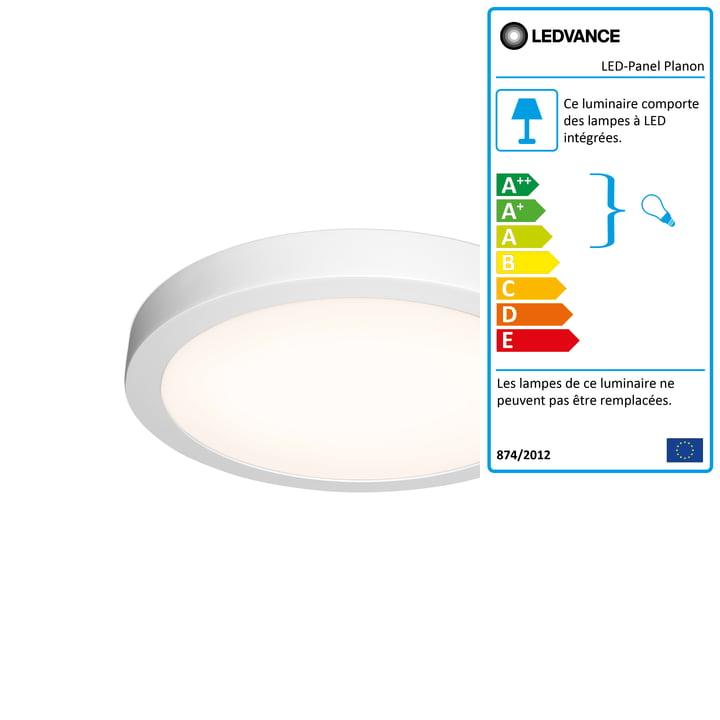 Panneau LED Planon Round, Ø 400 mm de Ledvance