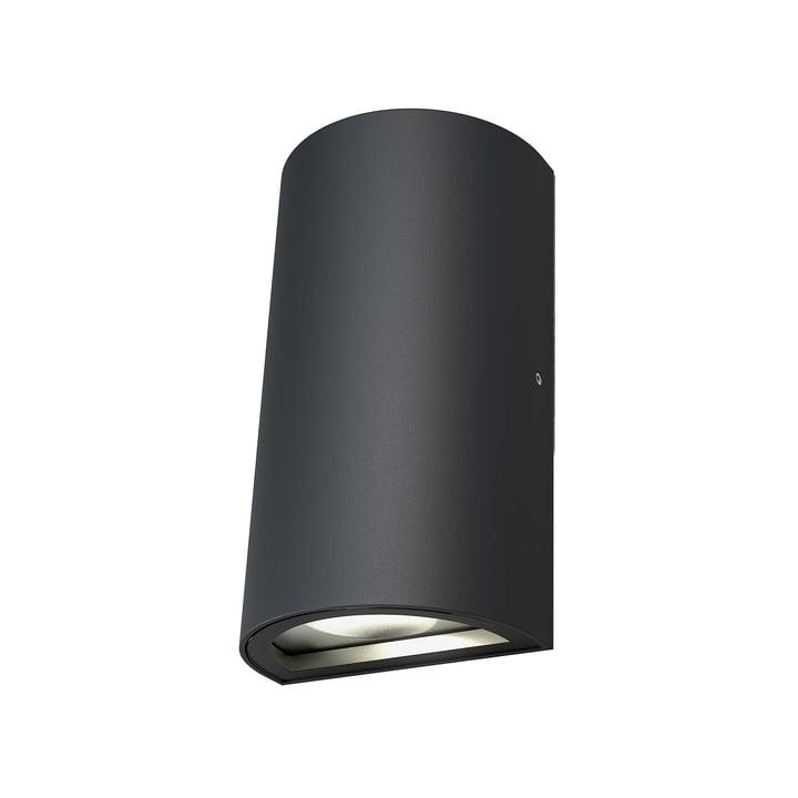 Applique murale haut-bas à LED style Endura, IP 44 / Blanc chaud 3000 K, gris foncé par Ledvance