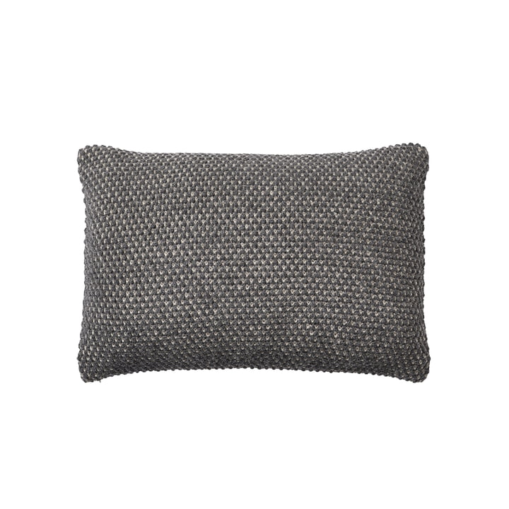 Coussin de ficelle 40 x 60 cm de Muuto en gris foncé