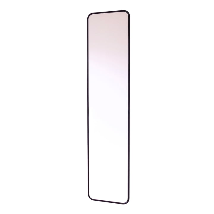 Miroir de concierge Mono by Caussa en noir