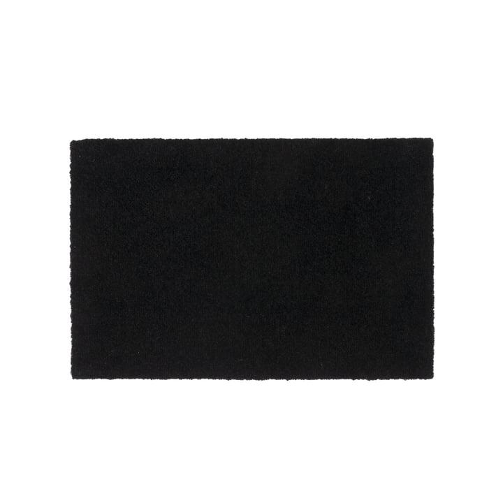 Paillasson 40 x 60 cm par tica copenhagen en Unicolor noir