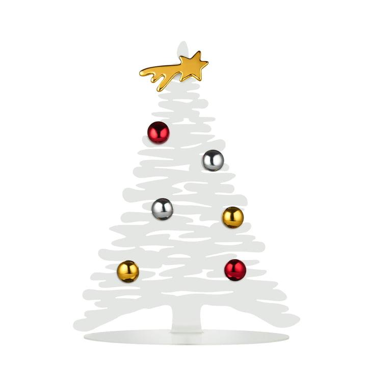 Bark for Christmas H 30 cm de Alessi en blanc