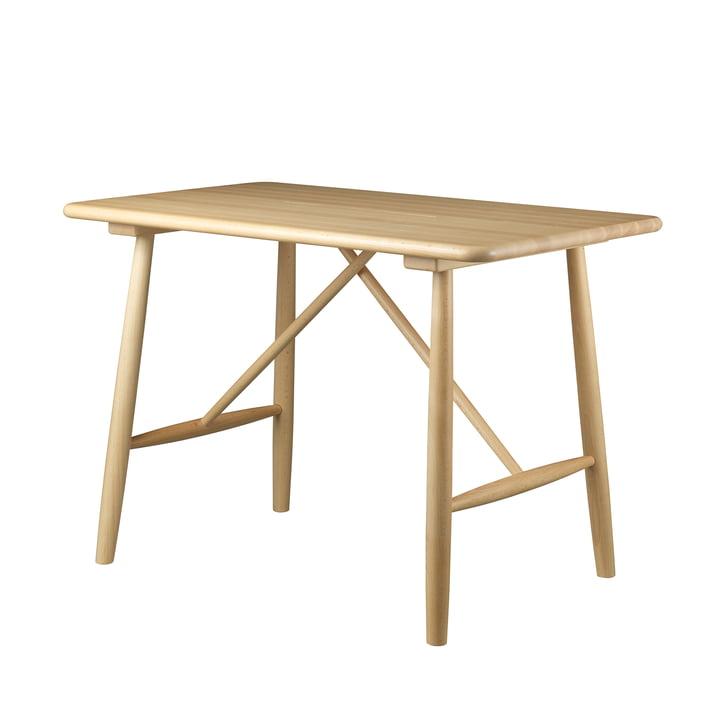 Table enfant P10 de FDB Møbler en hêtre laqué clair