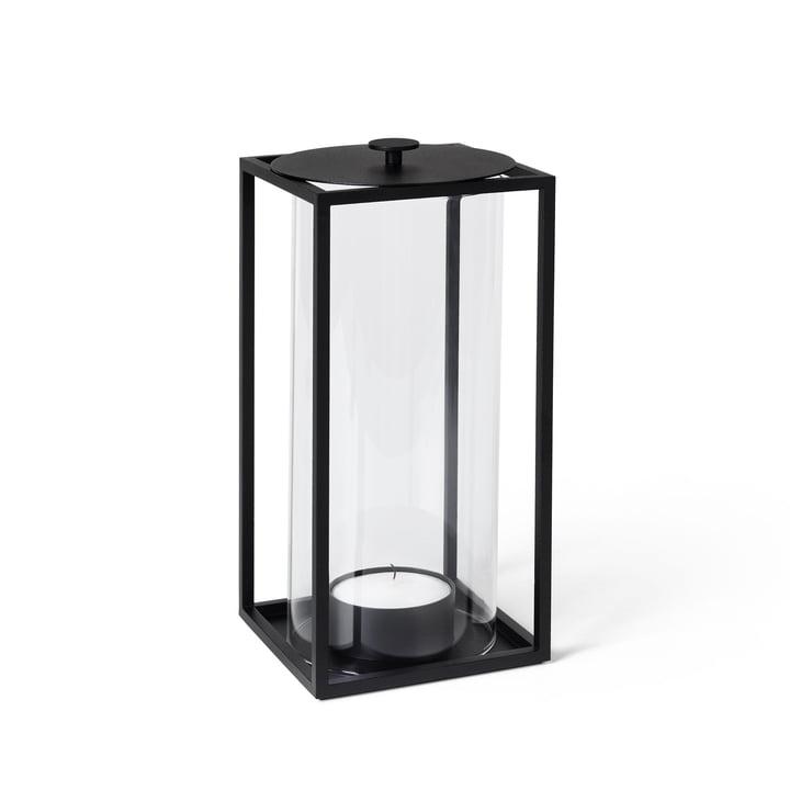 Lanterne Light'In H 24 cm, noir de by Lassen