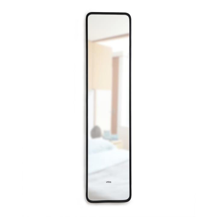 Miroir de dossier de moyeu d'Umbra en noir