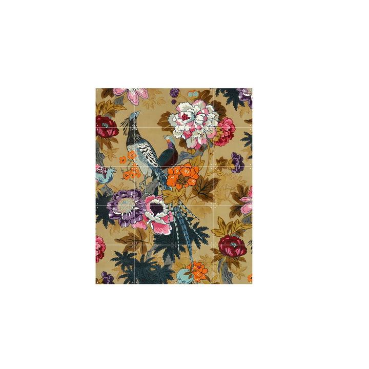Oiseaux tropicaux (Morton Sundour Fabrics Ltd, Angleterre) 80 x 100 cm de IXXI