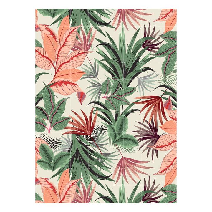 Jungle rose 160 x 220 cm de IXXI