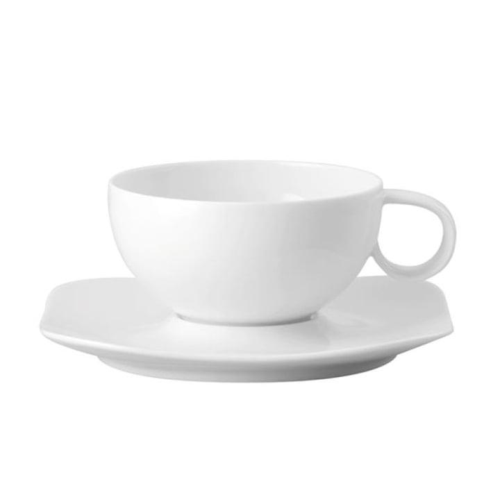 Tasse à thé Free Spirit de Rosenthal en blanc (2 pcs.)