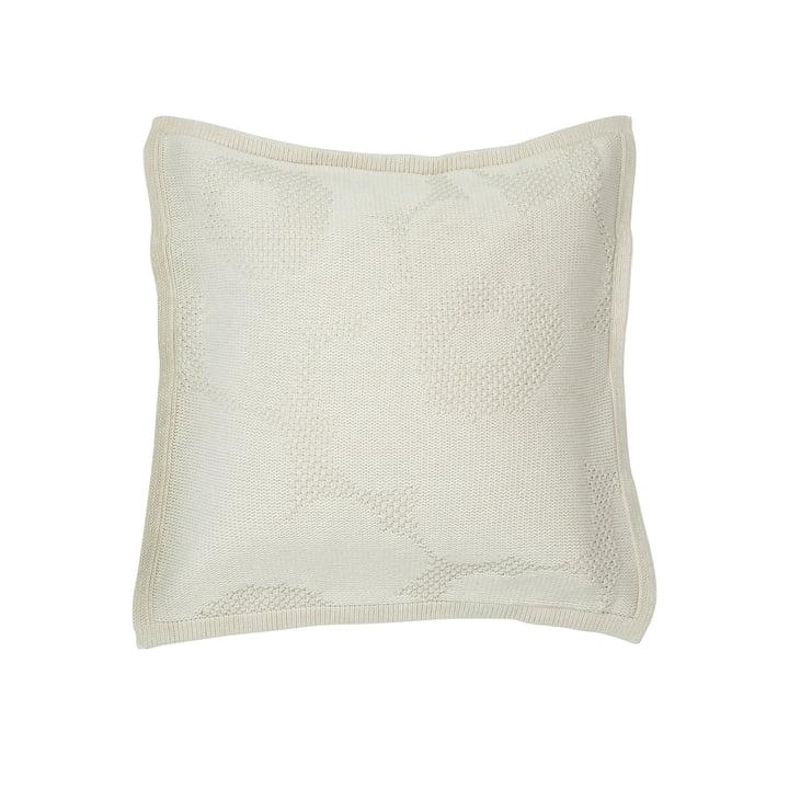 Taie d'oreiller Unikko 50 x 50 cm, blanc cassé de Marimekko