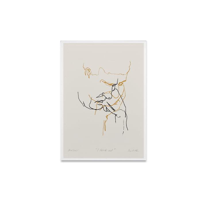 I Think Not 01 30 x 40 cm de Paper Collective