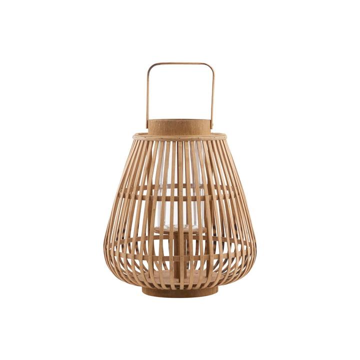 Lanterne Balu, Ø 30 x H 33 cm, naturelle par House Doctor