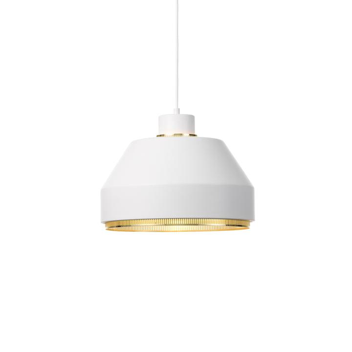 AMA500 lampe à suspension de Artek en laiton / blanc