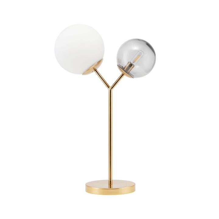 Lampe de table Twice H 42 cm par House Doctor en laiton
