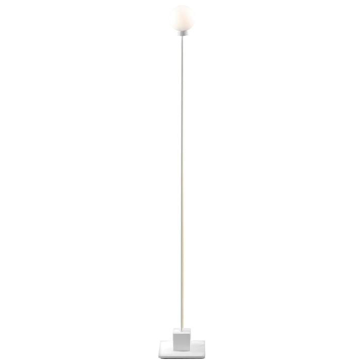 Lampadaire boule de neige H 117 cm, blanc de Northern