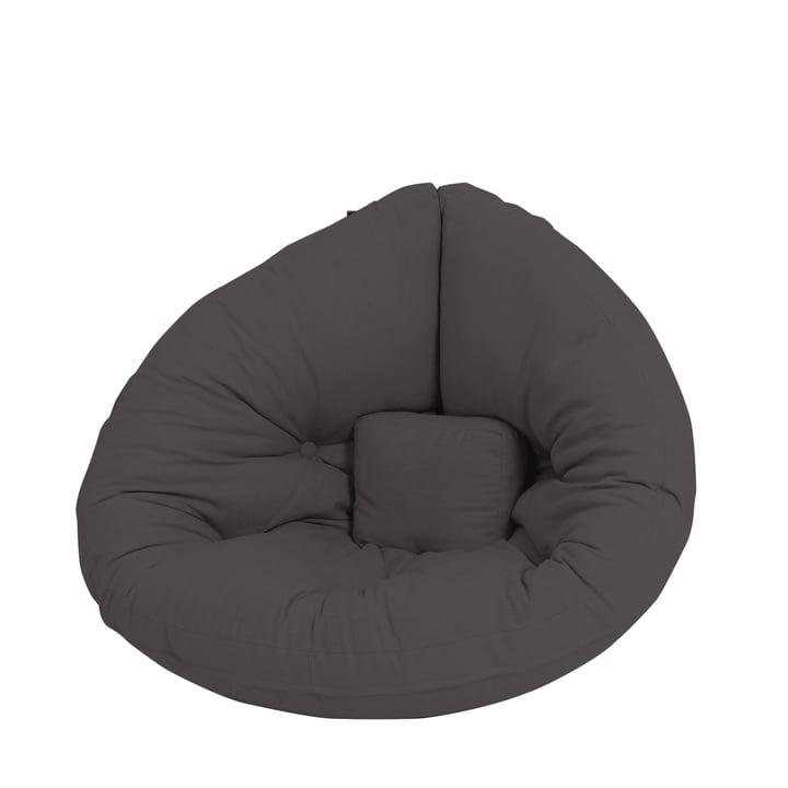 Nido Mini Chaise pliante Karup Design en gris foncé
