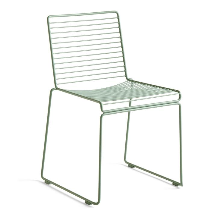 Chaise de salle à manger Hee, vert d'automne de Hay