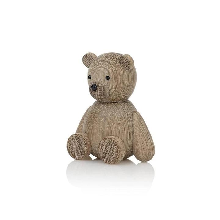 Figurine Lucie Kaas en bois de Teddy en chêne
