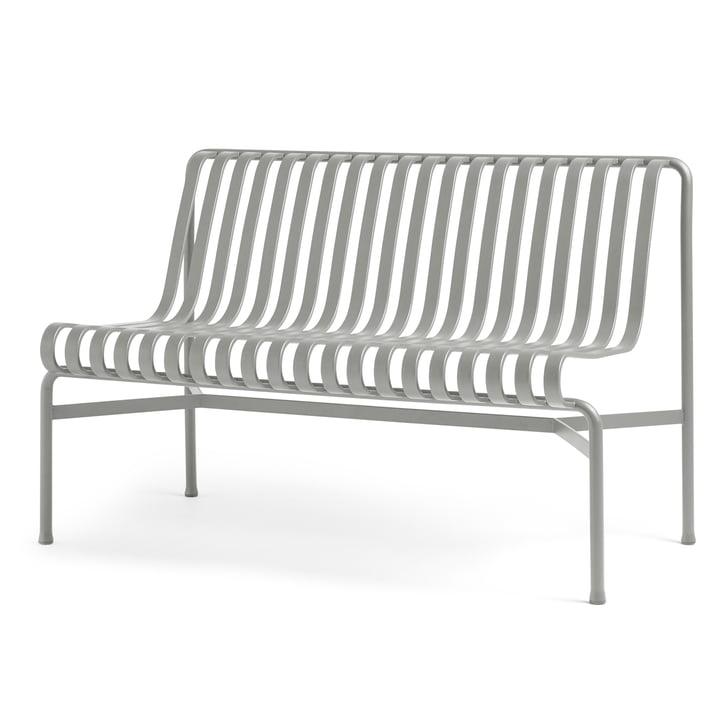 Palissade Dining Bench sans accoudoirs de Hay en gris ciel