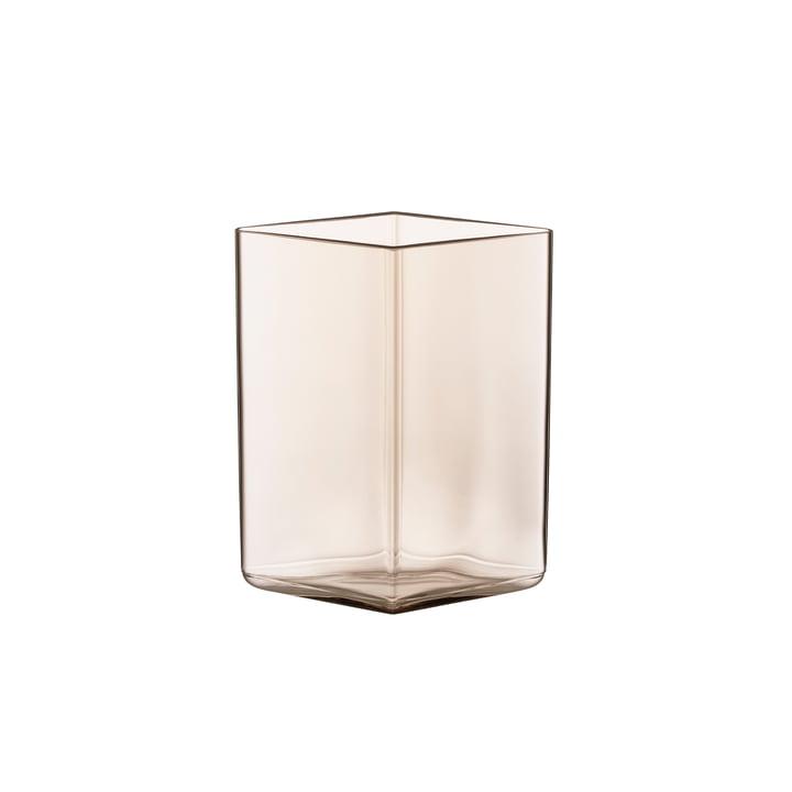 Ruutu Vase Iittala en verre 115 x 140 mm en lin