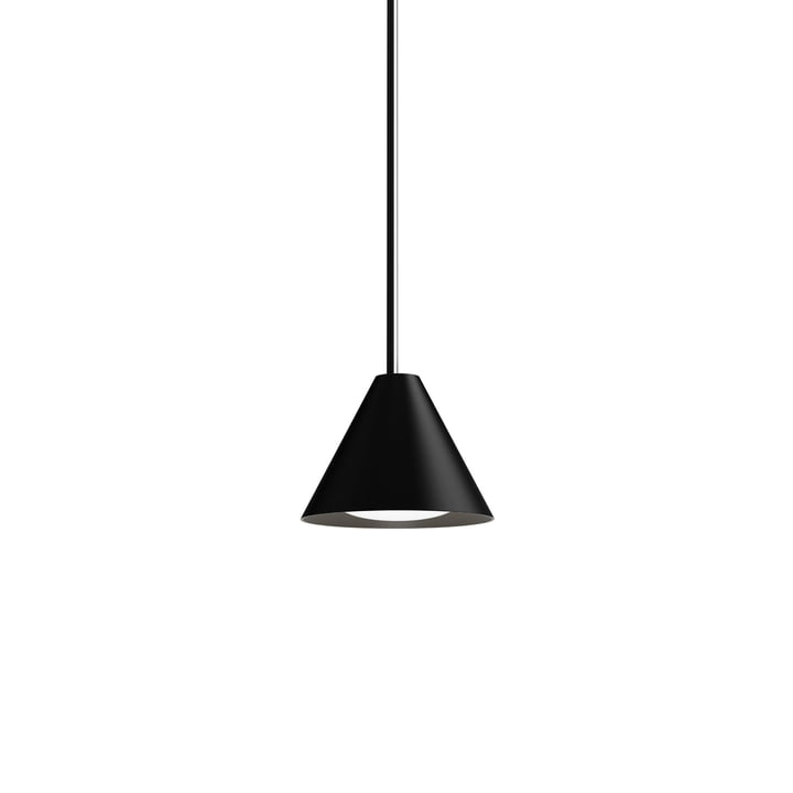 Keglen LED lampe à suspension Ø 175 mm de Louis Poulsen dans le noir