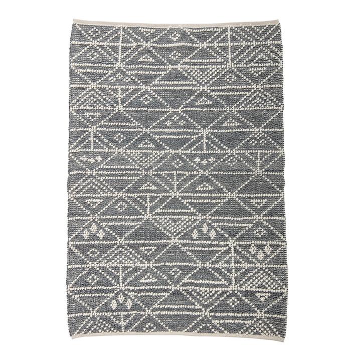 Tapis en laine aux dimensions 180 x 120 cm de Bloomingville en gris