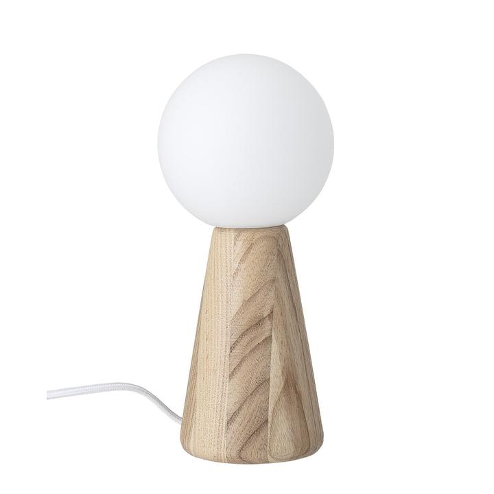 Lampe Bloomingville de table en frêne naturel